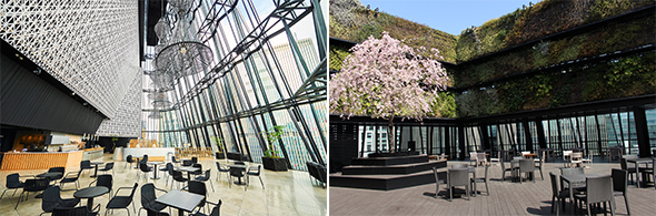 Ginza Landmark Tokyu Ginza Plazas two gem spaces are ready to welcome your event