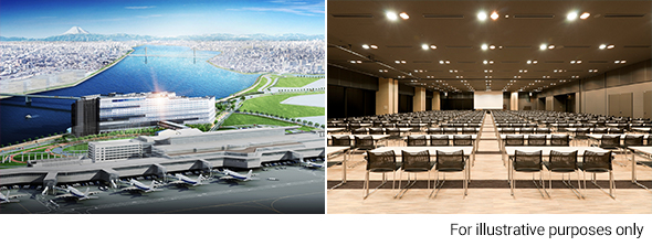 New Building Complex Opening This Spring, Right Next to Haneda Airport